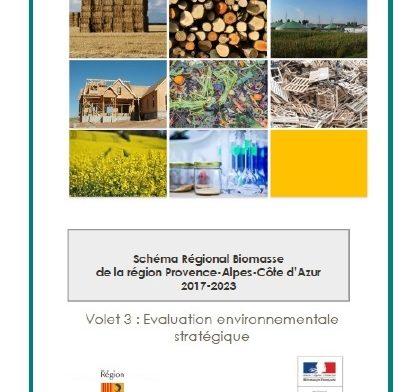 Schéma Régional Biomasse Provence Alpes-Côte d'Azur